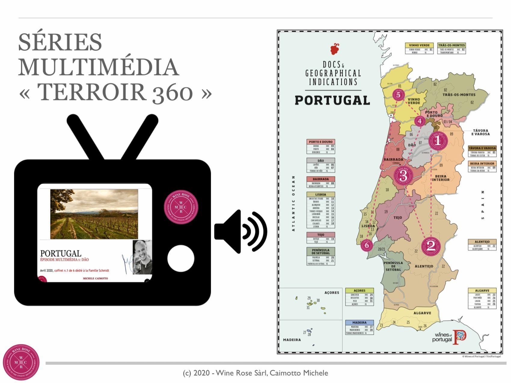 Le Vignoble Portugais